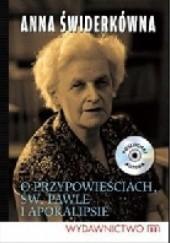 Okładka książki O przypowieściach, św. Pawle i Apokalipsie Anna Świderkówna