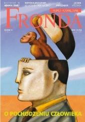 Okładka książki Fronda 67 O pochodzeniu człowieka Redakcja kwartalnika Fronda