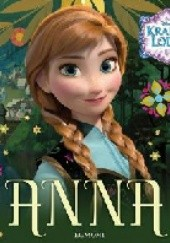 Okładka książki Anna. Kraina Lodu Walt Disney