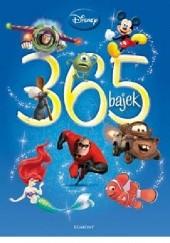Okładka książki 365 bajek Walt Disney