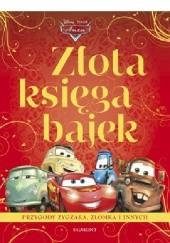 Okładka książki Złota Księga Bajek. Auta Walt Disney
