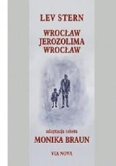 Okładka książki Wrocław-Jerozolima-Wrocław Lev Stern