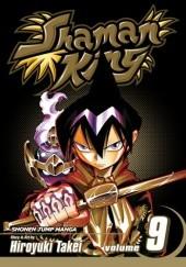 Okładka książki Shaman King vol. 9 Takei Hiroyuki