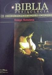 Okładka książki Księga Koheleta autor nieznany