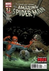 Okładka książki Amazing Spider-Man Vol 1 690 - No Turning Back Part 3: Natural State Klaus Janson, Dan Slott, Giuseppe Camuncoli