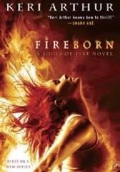 Okładka książki Fireborn Keri Arthur