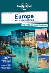 Okładka książki Lonely Planet Europe on a shoestring Tom Masters