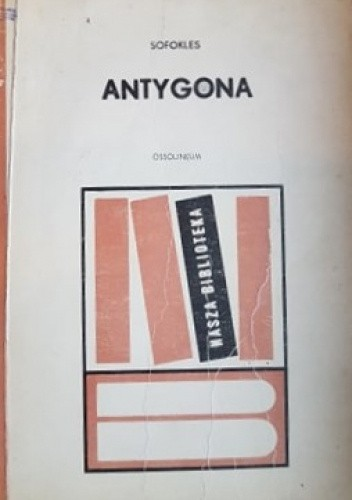 Okładka książki Antygona Sofokles