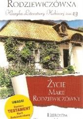 Okładka książki Życie Marii Rodziewiczówny Hieronim Tukalski-Nielubowicz
