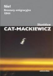 Okładka książki Nie! Broszury emigracyjne 1944 Stanisław Mackiewicz