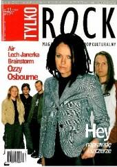 Okładka książki Tylko Rock, nr 11 (123)/2001 Redakcja magazynu Teraz Rock