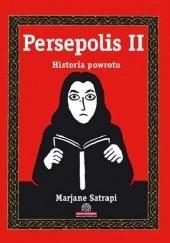 Okładka książki Persepolis: Historia powrotu Marjane Satrapi