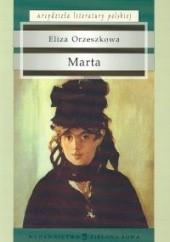 Okładka książki Marta Eliza Orzeszkowa
