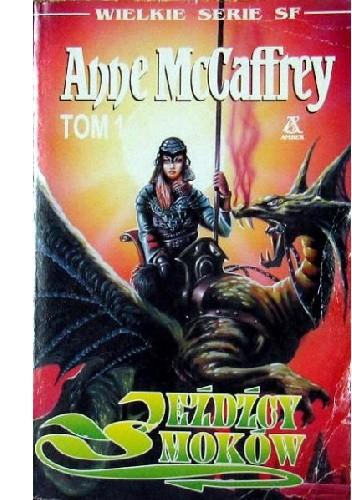 Okładka książki Jeźdźcy smoków Anne McCaffrey