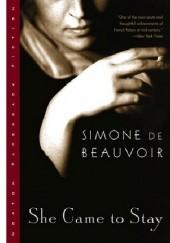 Okładka książki She Came to Stay Simone de Beauvoir