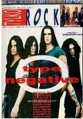 Okładka książki Tylko Rock, nr 6 (58)/1996 Redakcja magazynu Teraz Rock