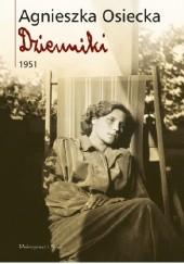 Okładka książki Dzienniki 1951 Agnieszka Osiecka