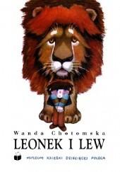 Okładka książki Leonek i lew Wanda Chotomska