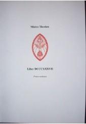Okładka książki Mistrz Therion, Liber 837. Prawo wolność Aleister Crowley
