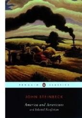 Okładka książki America and Americans and Selected Nonfiction John Steinbeck
