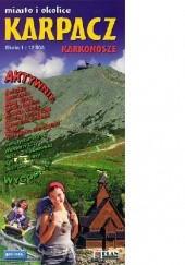 Okładka książki Karpacz miasto i okolice Karkonosze [GALILEOS] praca zbiorowa