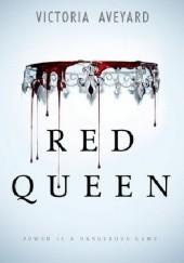 Okładka książki Red Queen Victoria Aveyard