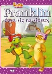Okładka książki Franklin dąsa się na siostrę Paulette Bourgeois,Brenda Clark