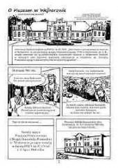 Okładka książki O Muzeum w Wejherowie snuta komiksem opowieść Piotr Schmandt,Tomasz Mering