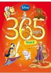 Okładka książki 365 bajek. Tom 2 Walt Disney