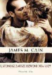Okładka książki Podwójne ubezpieczenie James Mallahan Cain