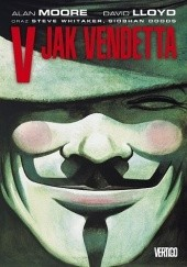 Okładka książki V jak Vendetta Alan Moore,David Lloyd