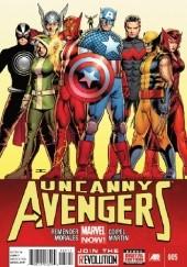Okładka książki Uncanny Avengers Vol 1 #5 Olivier Coipel,Rick Remender