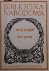 Okładka książki Utwory wybrane Tadeusz Borowski