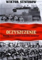 Okładka książki Oczyszczenie Wiktor Suworow