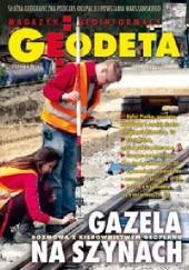 Okładka książki Geodeta. Magazyn geoinformacyjny, nr 8 (231)/2014 Redakcja Magazynu Geodeta,Agnieszka Ptak,Edward Tomiczak