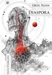 Okładka książki Diaspora Greg Egan