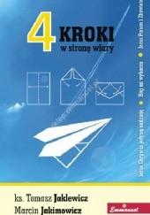 Okładka książki 4 Kroki w stronę wiary Marcin Jakimowicz