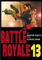 Okładka książki Battle Royale 13 Koushun Takami,Masayuki Taguchi