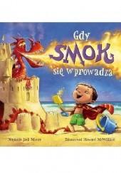Okładka książki Gdy smok się wprowadza Jodi Moore