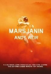 Okładka książki Marsjanin Andy Weir