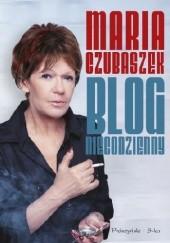 Okładka książki Blog niecodzienny Maria Czubaszek