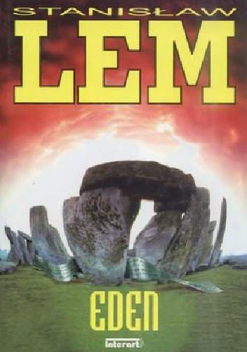 Okładka książki Eden Stanisław Lem