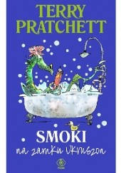 Okładka książki Smoki na zamku Ukruszon Terry Pratchett