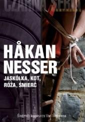 Okładka książki Jaskółka, kot, róża, śmierć Håkan Nesser