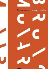 Okładka książki Dizajn i sztuka Bruno Munari