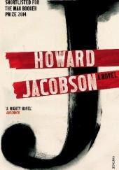 """Okładka książki """"J"""" Howard Jacobson"""