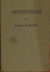 Okładka książki Zachęta do filozofii Arystoteles