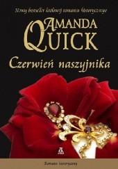 Okładka książki Czerwień naszyjnika Amanda Quick