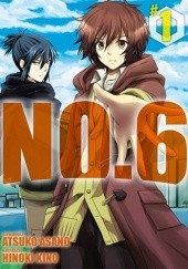 Okładka książki No.6 #1 Atsuko Asano,Hinoki Kino