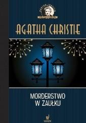 Okładka książki Morderstwo w zaułku Agatha Christie